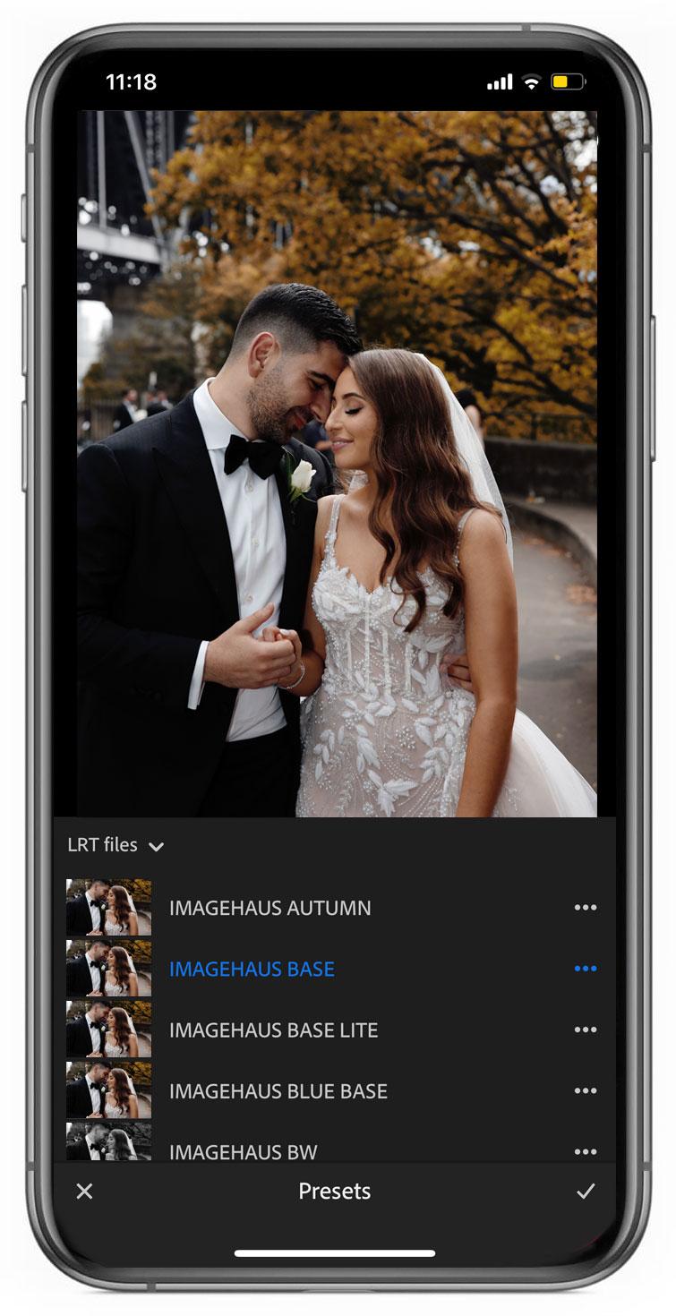 imagehaus-mobile-presets